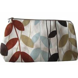 Skylar Cosmetic Bag in Fields of Blue