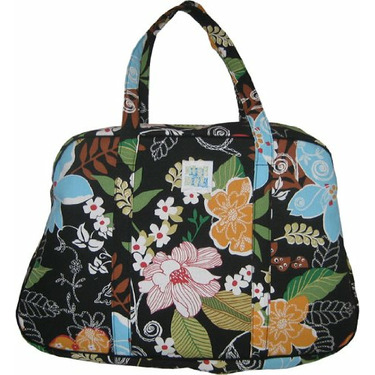 Megan Travel Tote in Tropicana