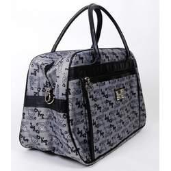 Hello Kitty Large Handbag Tote Shoulder Bag Gray