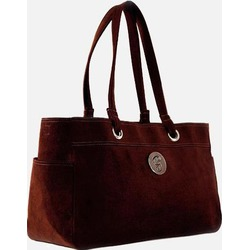 Classic Chocolate Everything Tote Diaper Bag
