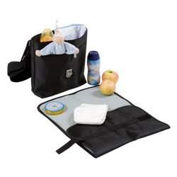Lassig Saddlebag Diaper Bag, Glam Lavender
