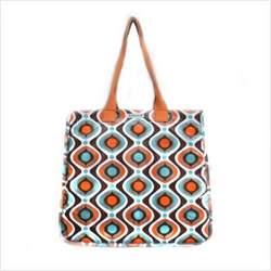 Rock the Tote Diaper Bag in Kaleidoscope