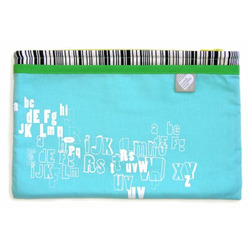 Alphabet Diaper Clutch
