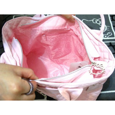 Hello Kitty Pink Shoulder Clutch Bag