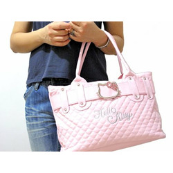 Hello Kitty Pink Shoulder Clutch Bag