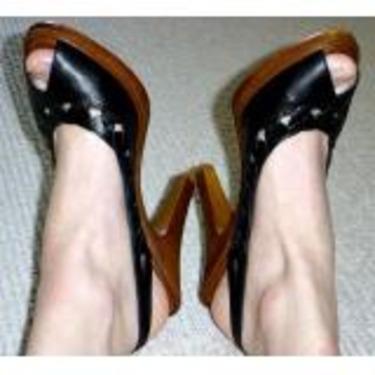 Michael Kors Peep Toe Slingbacks