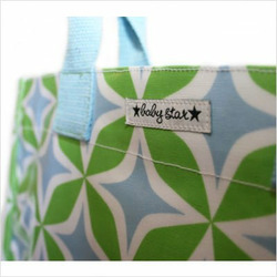 Rock the Tote Diaper Bag in Foursquare Blue