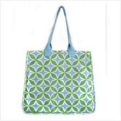 Rock the Tote Diaper Bag in Foursquare Blue