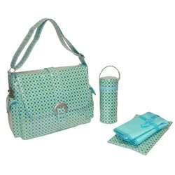Kalencom Turquoise Paisley Diaper Bag