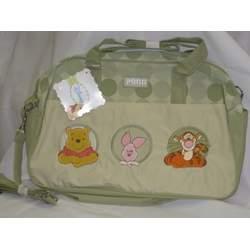 Disney Large Diaper Bag Pooh Green Color