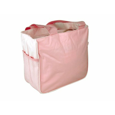 Tender Kisses Pink Butterfly Cooler Diaper Tote Bag