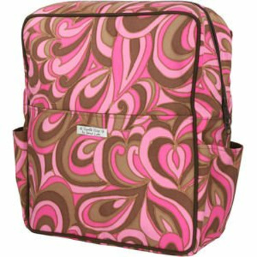 Bumble Bags Madeline Messenger Backpack Pink Pucci