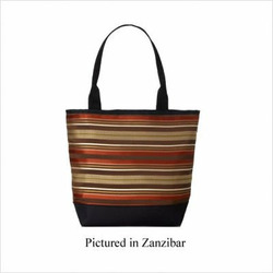 SignatureTote Bag Fabric: Terra Cotta