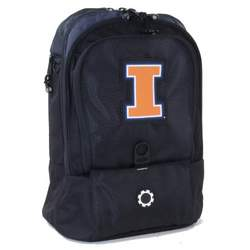 DadGear Collegiate Series Diaper Backpack (Illinois)