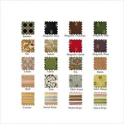 Pocket Tote Fabric: Dragonfly Jade