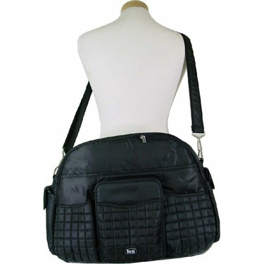 Lug Tuk Tuk Carry All Bag Also great as a diaper bag, Black