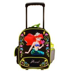 Disney The Little Mermaid Ariel Toddler Rolling Backpack