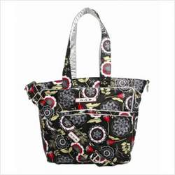 Be Spicy Diaper Bag Tote in Lotus Lullaby