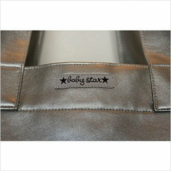 Rock the Tote Diaper Bag in Metallic Silver