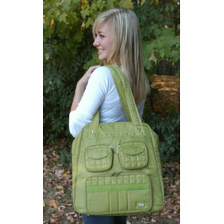 Red Lug Koie Puddle Jumper Overnight , travel, gym or diaper bag with pockets galore