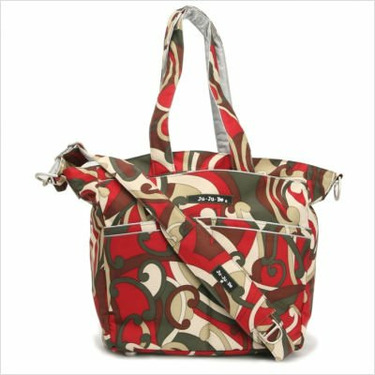 Be Spicy Diaper Bag Tote in Sienna Swirl