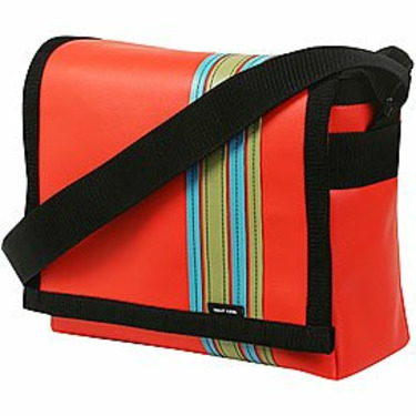 Orange Airborne Messenger Bag