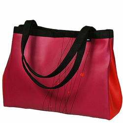 Raspberry Turbo Large Snap Side Tote
