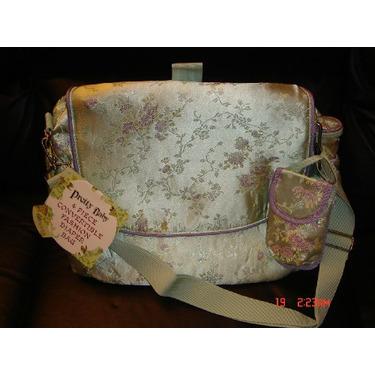 Pretty Baby 4 Piece Convertible Fashion Diaper Bag