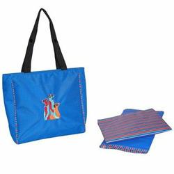 Meerkat Circle of Friends Diaper Day Bag in Royal