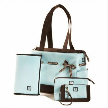 JP Lizzy Classic Tote Set - Chocolate Ice
