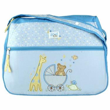 Baby Essentials Blue Stargazer Diaper Bag