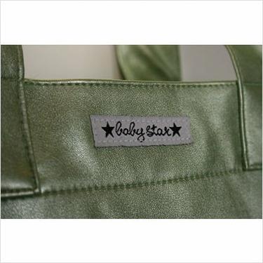 Rock the Tote Diaper Bag in Metallic Green