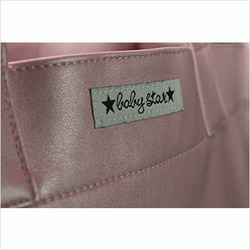 Rock the Tote Diaper Bag in Metallic Pink