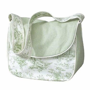Hoohobbers Etoile Green Diaper Bag - Choose Your Style