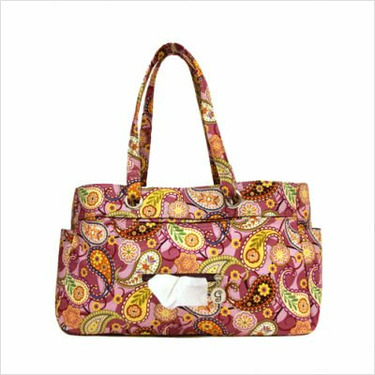 Berry Cosmo Everything Tote Diaper Bag