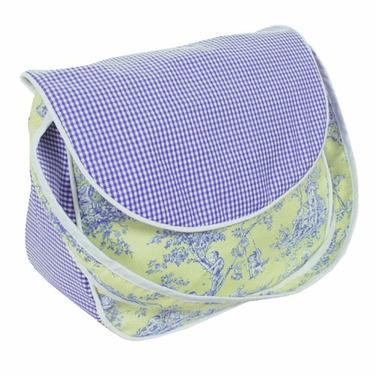 Hoohobbers Etoile Lime Diaper Bag - Choose Your Style