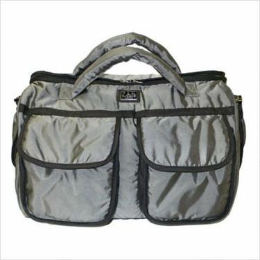 Voyage Diaper Bag Size: Large, Color: Metallic Gold