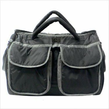 Voyage Diaper Bag Size: Large, Color: Metallic Gray (Silver)