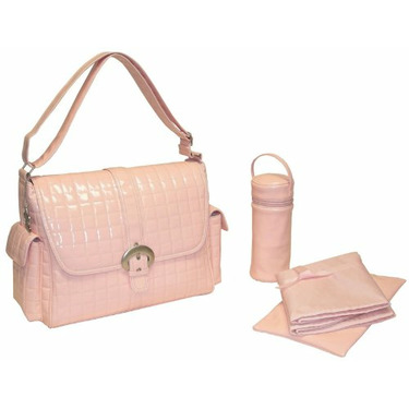 Monique Diaper Bag in Powder Pink