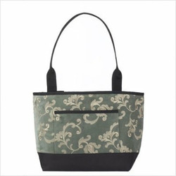 Pocket Tote Fabric: Dragonfly Onyx