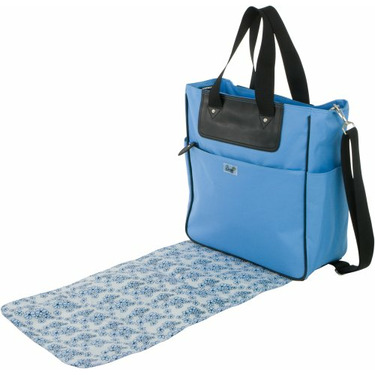 Buzz Lily Tote Blue