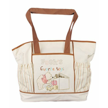 Winnie the Pooh Large Diaper Bag