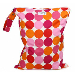 Snuggy Baby XL Wet Bag - Sorbet Dot