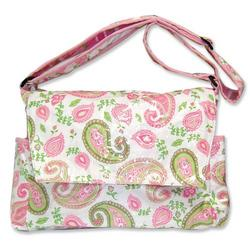 Messanger Diaper Bag in Paisley Park