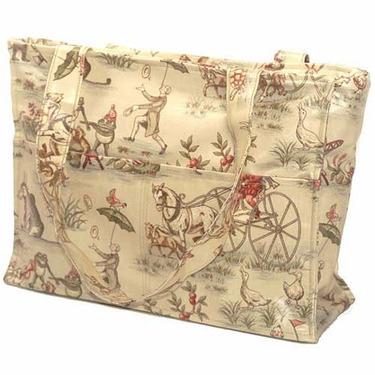 Festival Toile Tote Diaper Bag