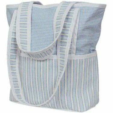 Sherbert Tote Diaper Bag - Color Blue
