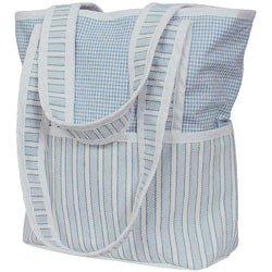 Sherbert Tote Diaper Bag - Color Blue