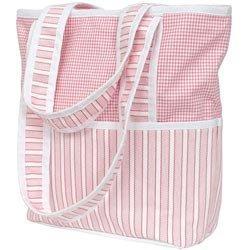 Sherbert Tote Diaper Bag - Color Pink