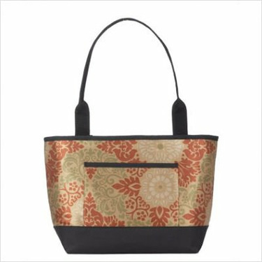 Baby Diaper Bag (Includes Removable Changing Pad) Fabric: Dragonfly Chocolate