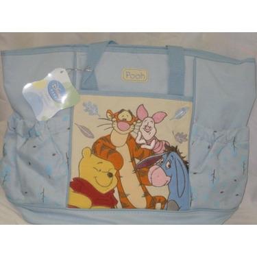Disney Baby Large Diaper Bag Pooh Color Blue